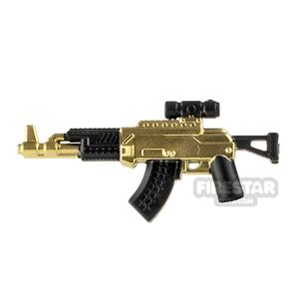 LeYiLeBrick Assault Rifle 1 Black / Gold