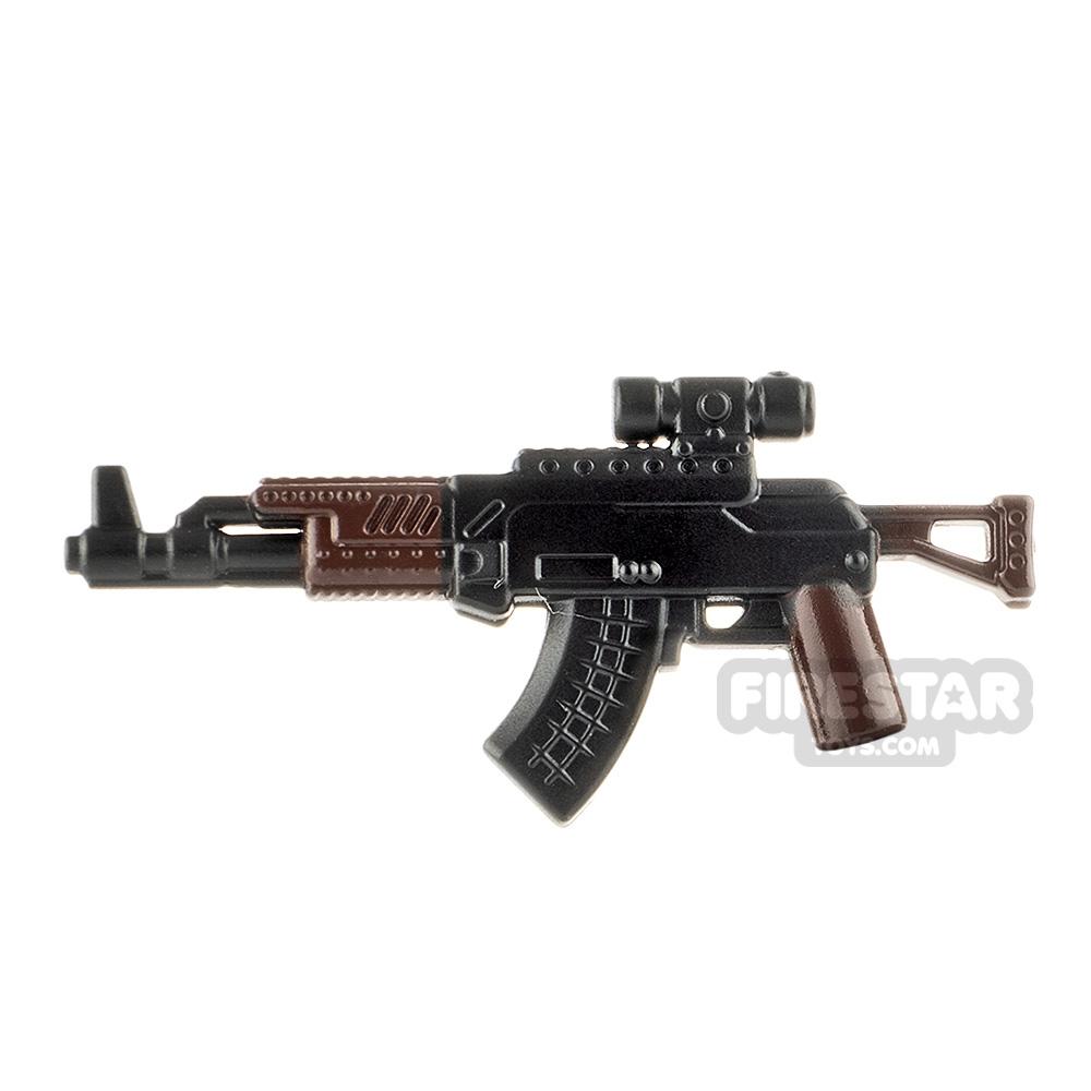 LeYiLeBrick Assault Rifle 1 Black / Brown