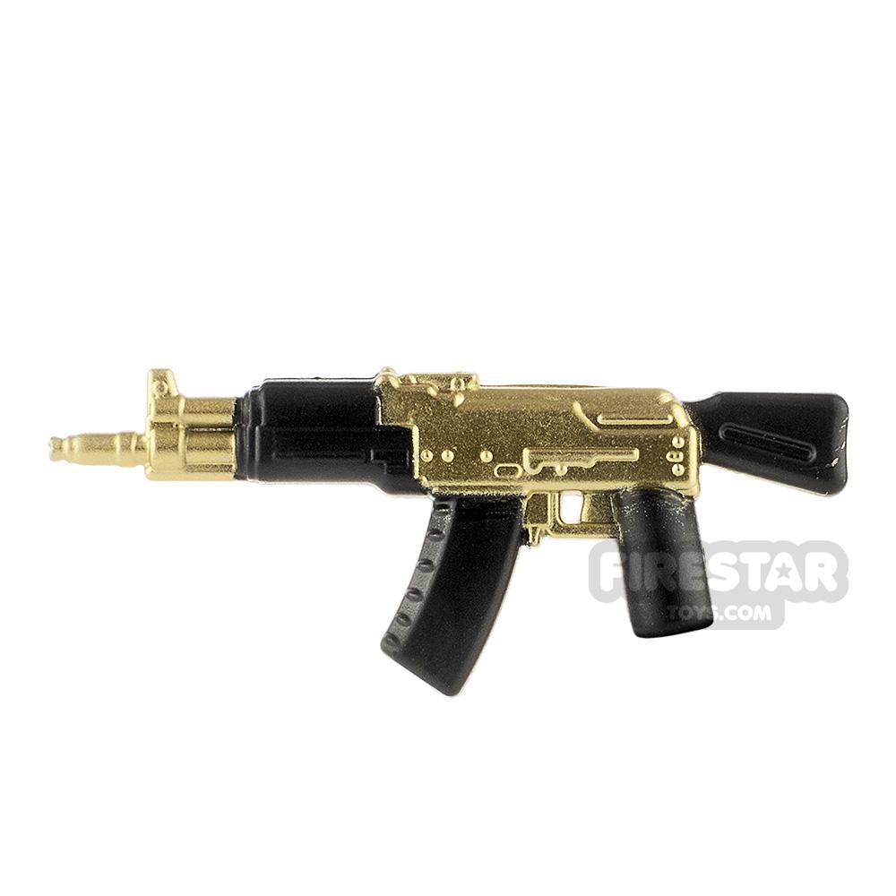 LeYiLeBrick Assault Rifle 2 Black / Gold