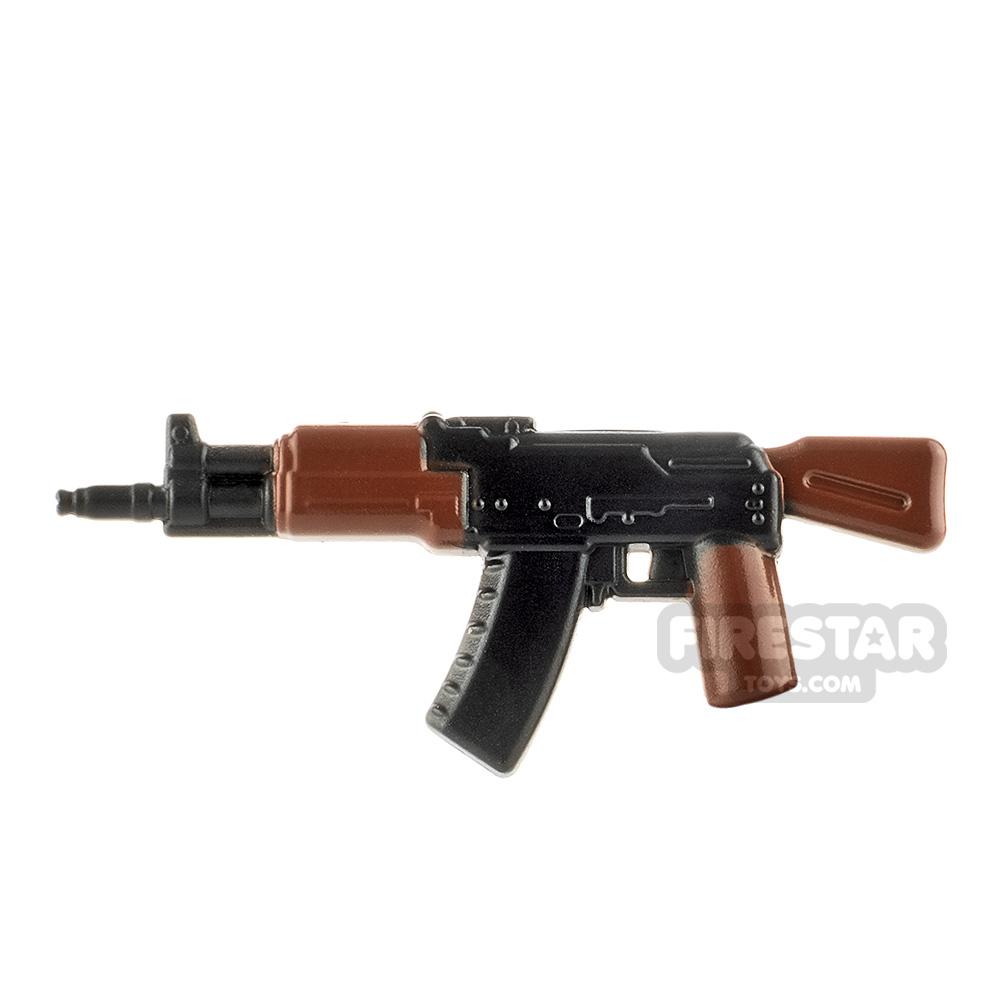 LeYiLeBrick Assault Rifle 2 Black / Brown