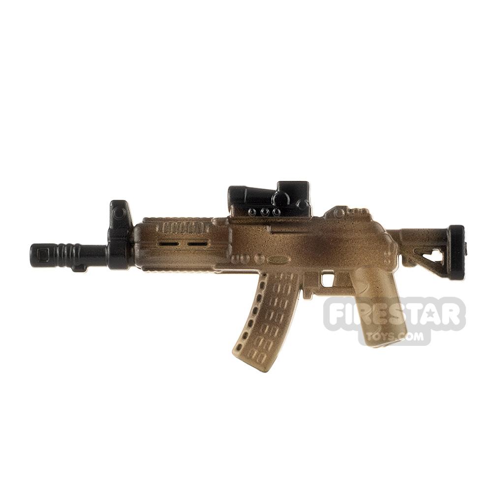 LeYiLeBrick Assault Rifle 3 Camo / Black