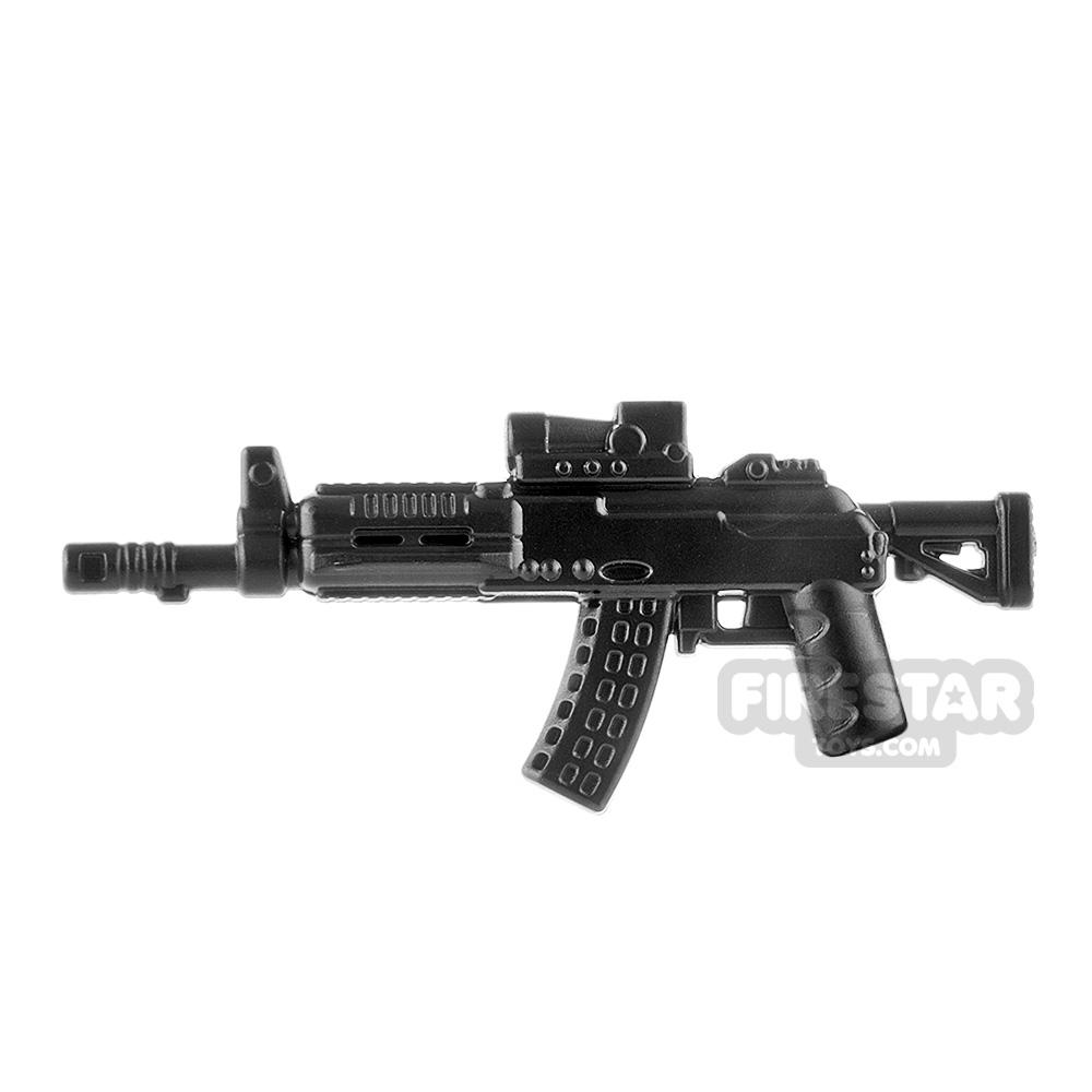 LeYiLeBrick Assault Rifle 3 Steel / Black