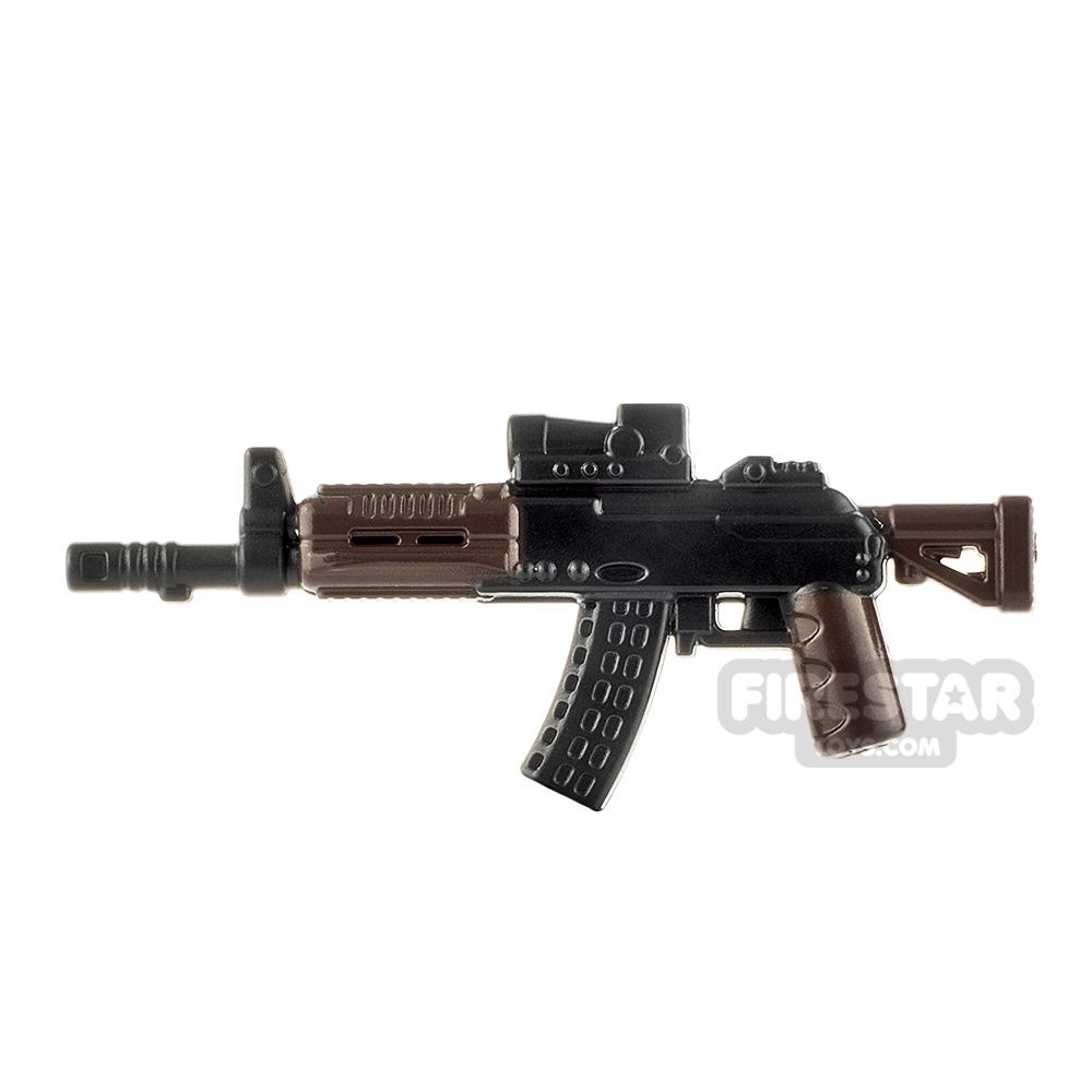LeYiLeBrick Assault Rifle 3 Black / Brown