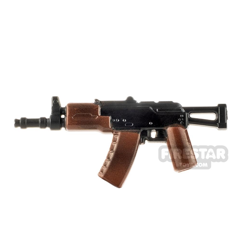 LeYiLeBrick Assault Rifle 4 Black / Camo