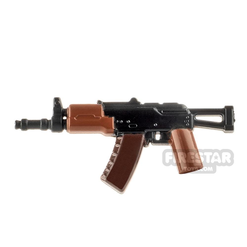 LeYiLeBrick Assault Rifle 4 Black / Brown V2