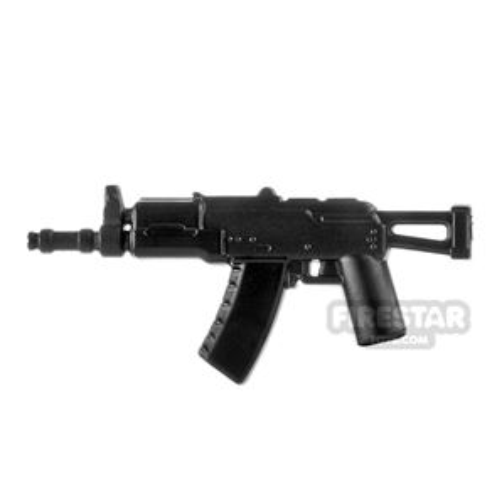 LeYiLeBrick Assault Rifle 4 Steel / Black V1