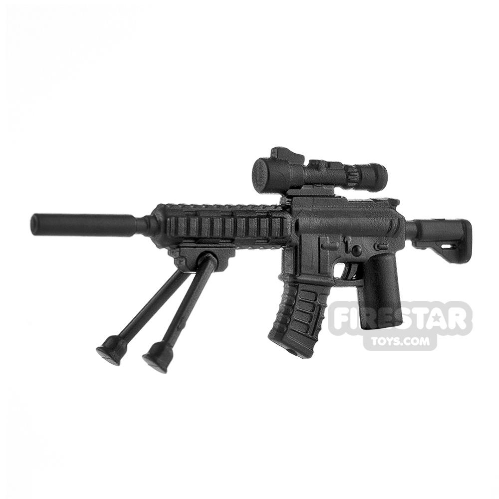 LeYiLeBrick Sniper Rifle 5 Pull Down Stand