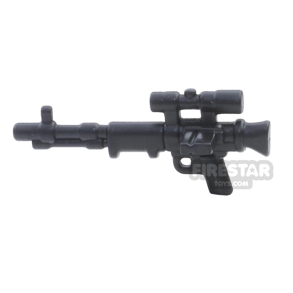BrickWarriors - FallschirmJager Rifle - Black