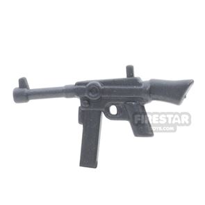 BrickWarriors - French SMG - Steel