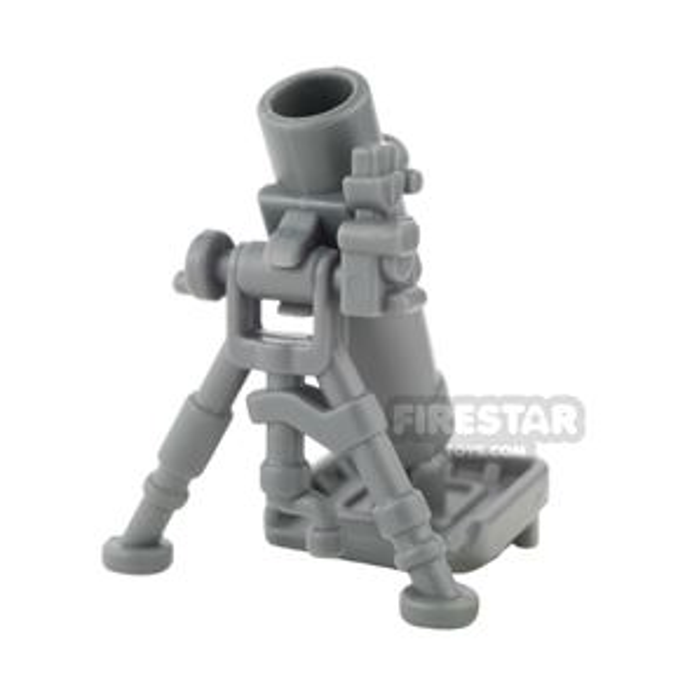 BrickWarriors - Mortar Tube - Dark Gray