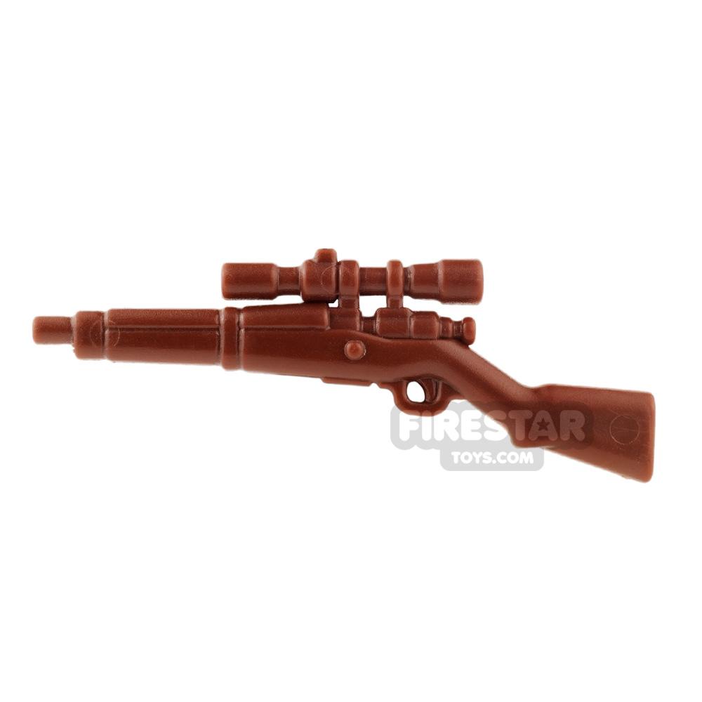 BrickWarriors - US Sniper - Brown
