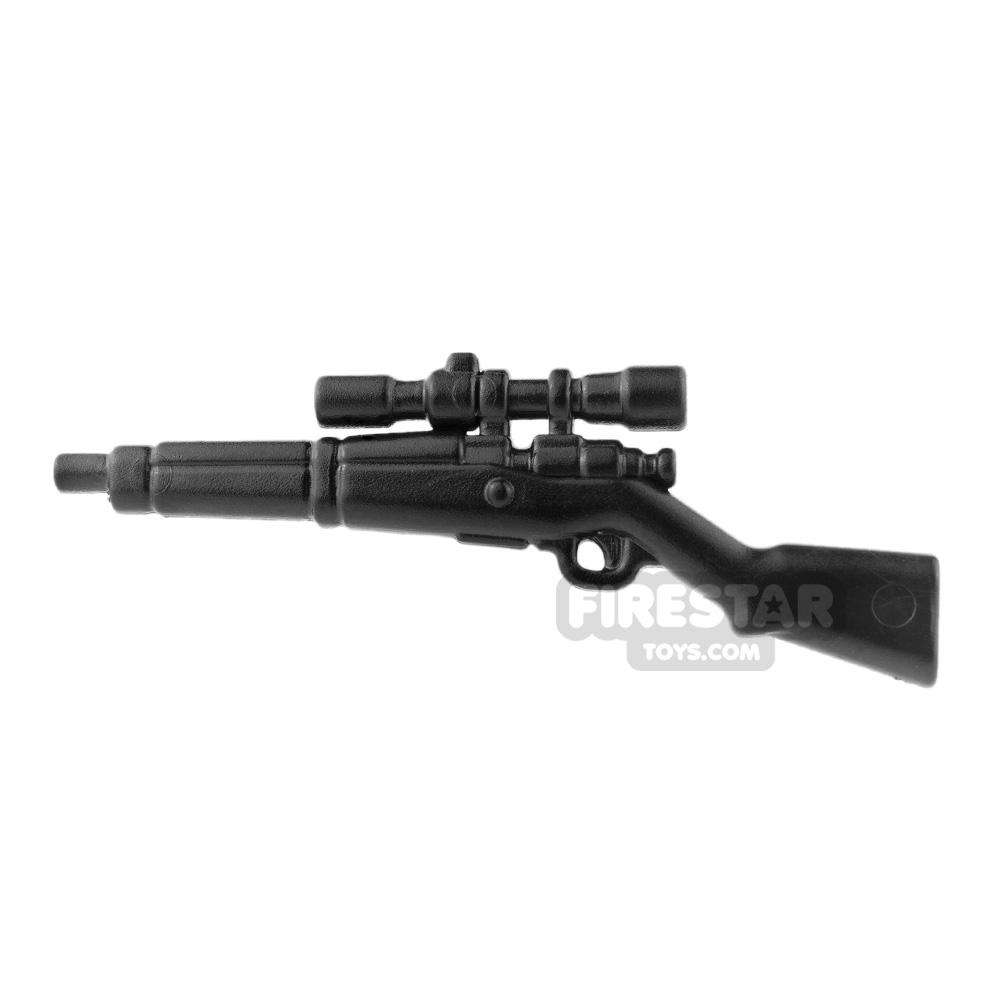 BrickWarriors - US Sniper - Black
