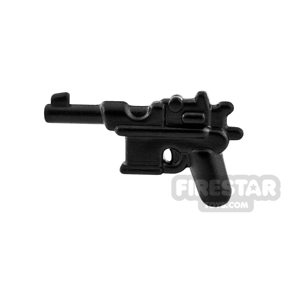 BrickWarriors - WW2 Semi Auto Pistol - Black