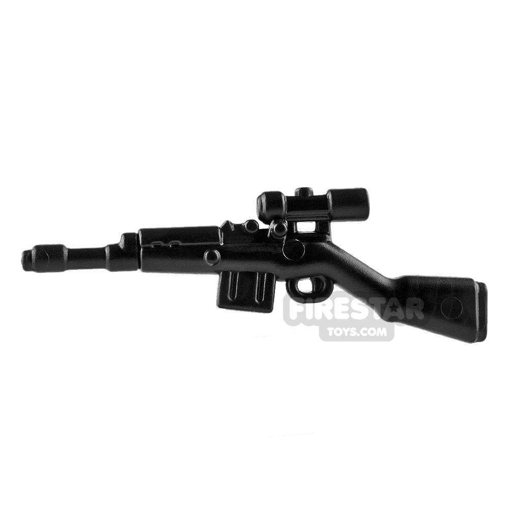 BrickWarriors - German Sniper - Black