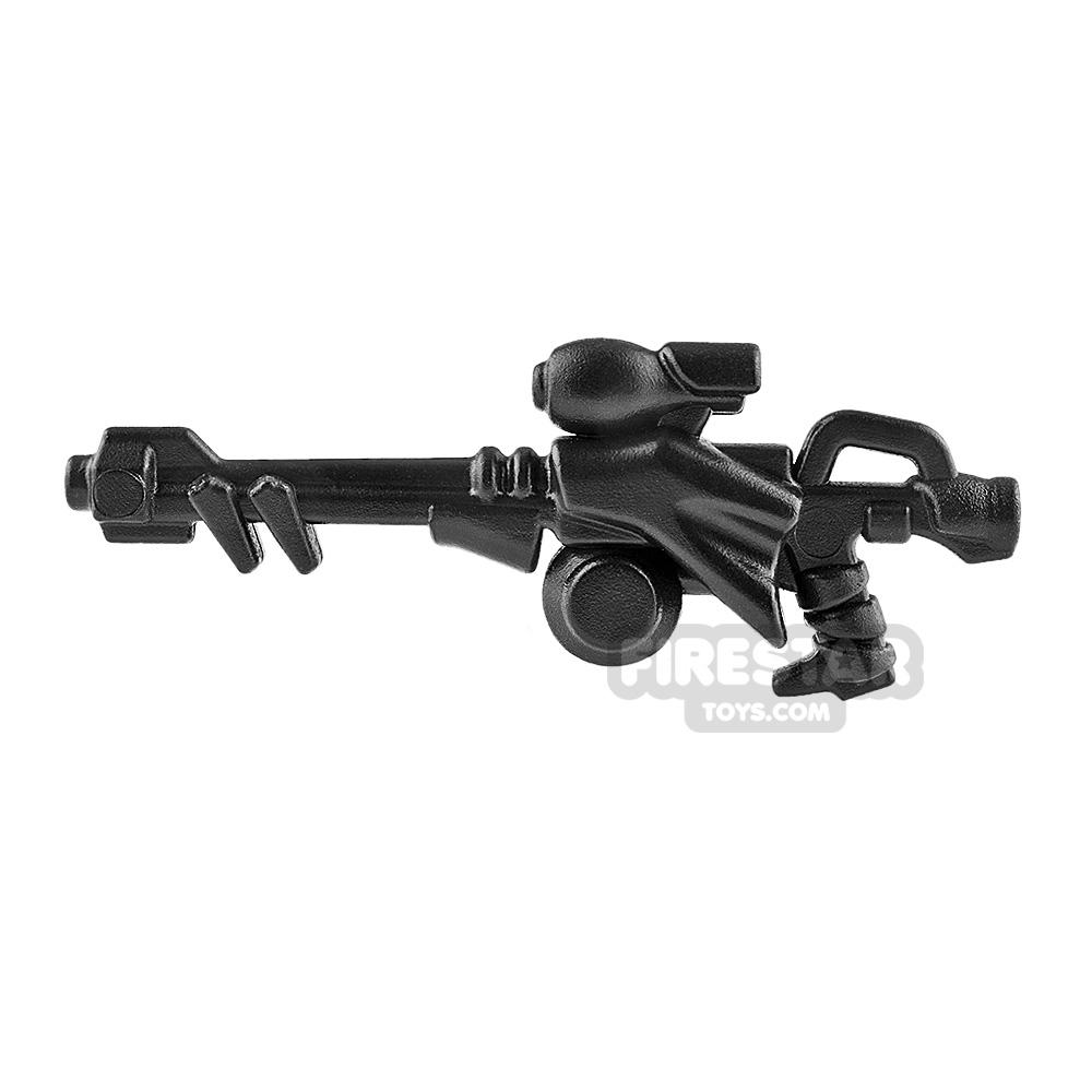 BrickWarriors - Scavenger Rifle - Black