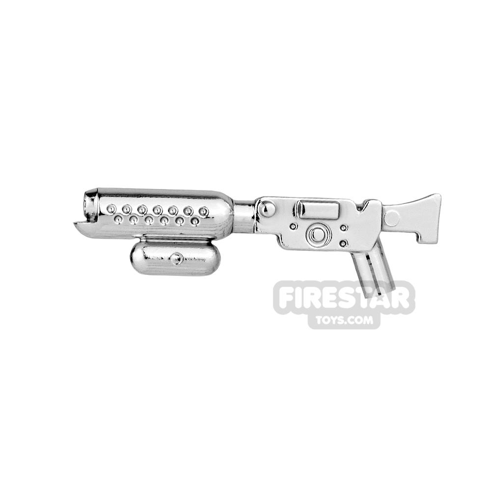 Clone Army Customs - BT X-42 Flamethrower V2 - Chrome Silver