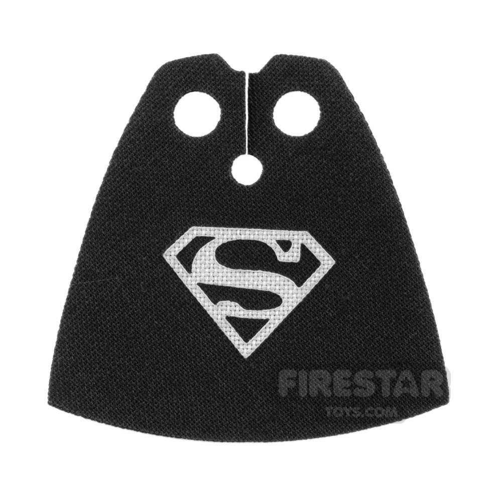 Custom Design Cape - Superman - Light Gray