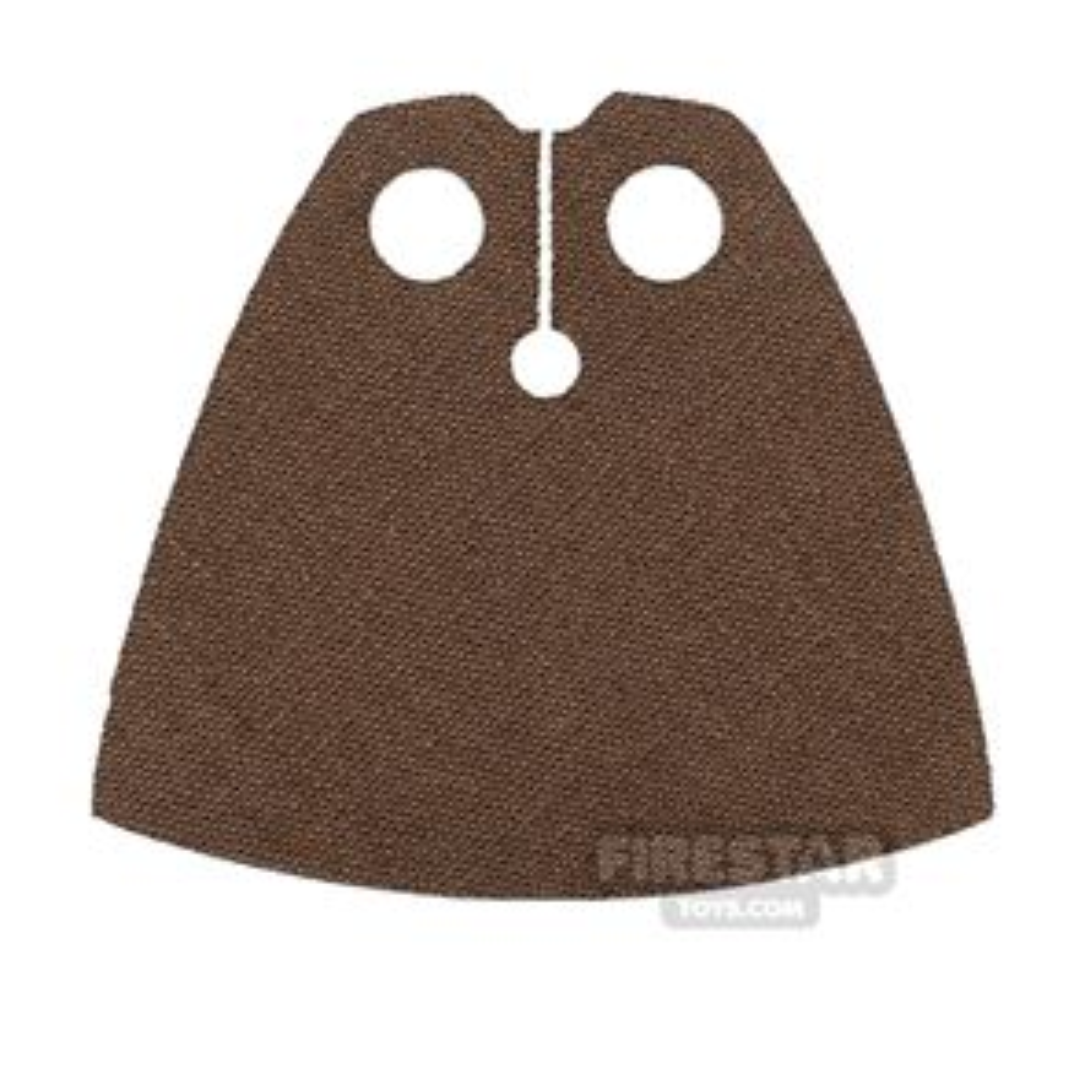 Custom Design Cape - Short - Dark Brown