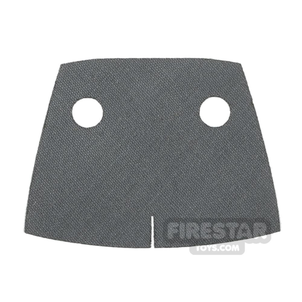 Custom Design Cape - Trenchcoat - Square Collar - Dark Gray