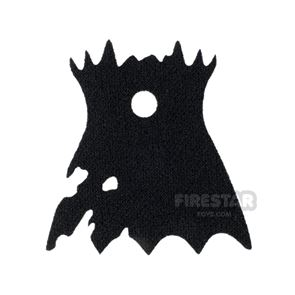 LEGO Cape Spongy Tattered and Scalloped with Collar