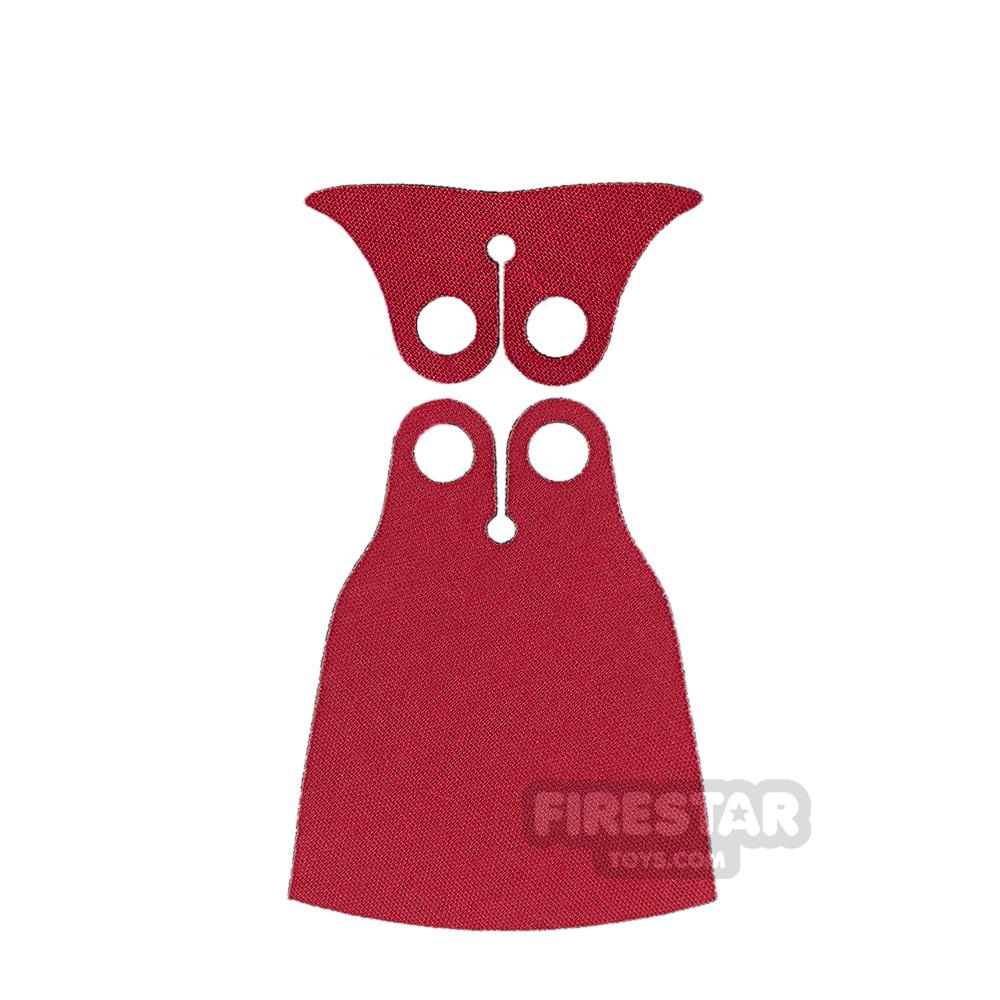 Custom Design Cape - Zurg - Black/Red