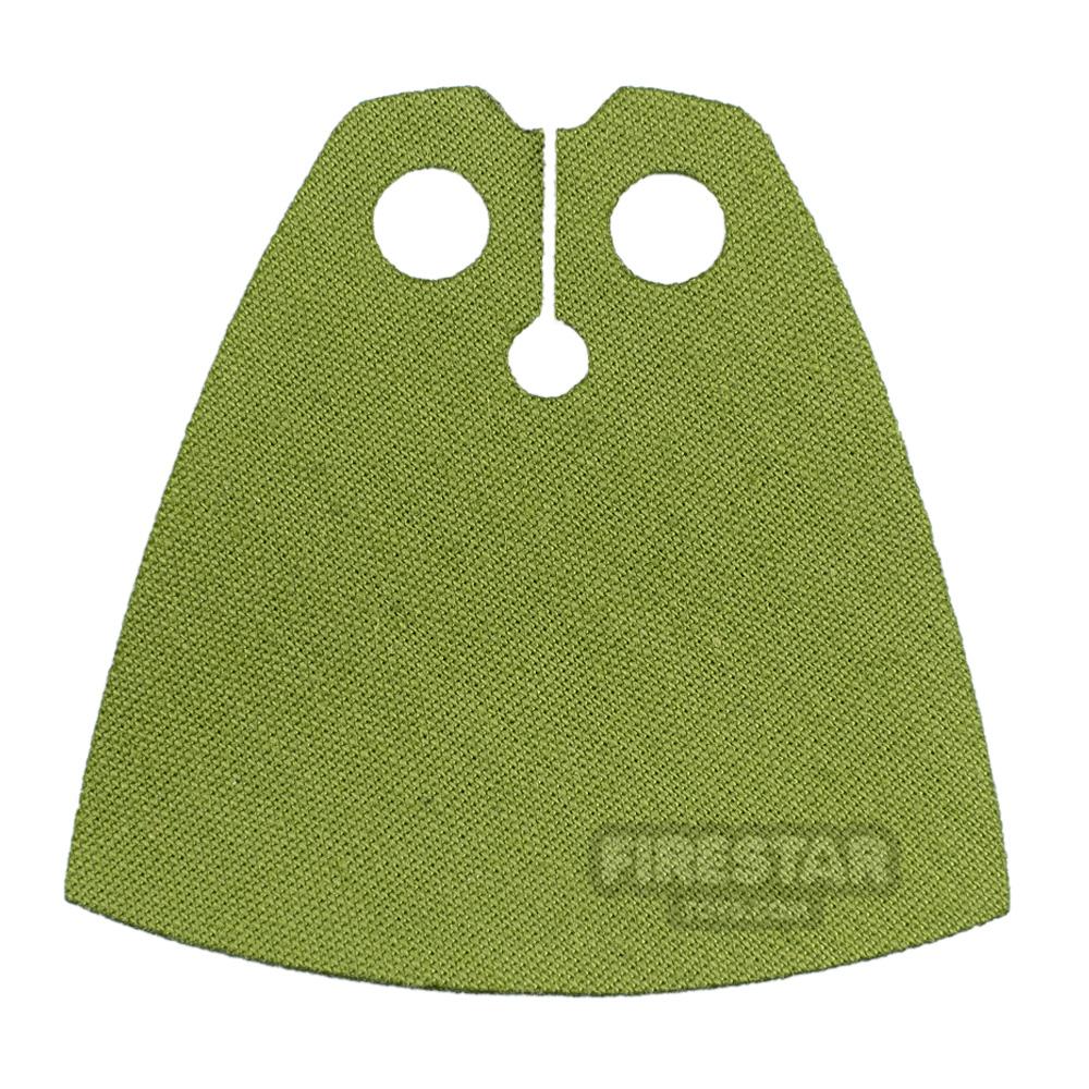 Custom Design Cape - Olive Green