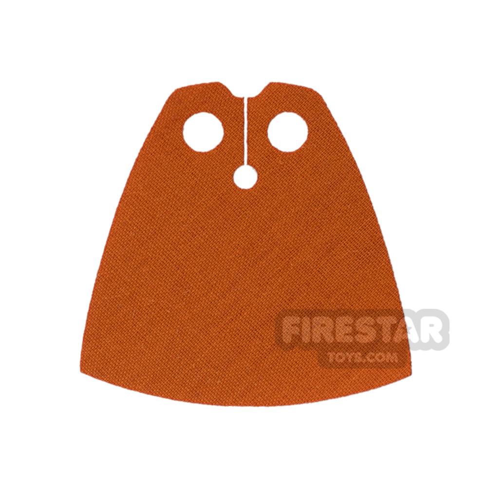 Custom Design Cape - Dark Orange