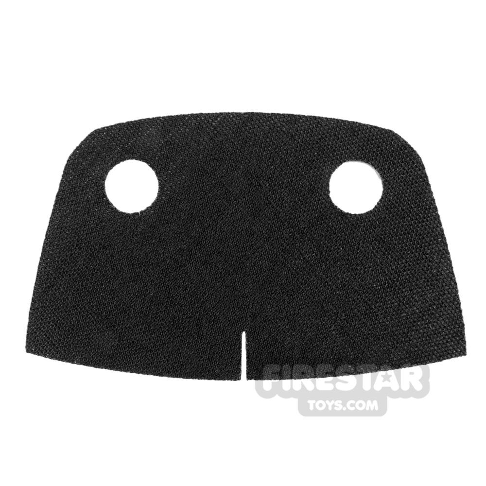 Custom Design Cape Short Trenchcoat Round Collar