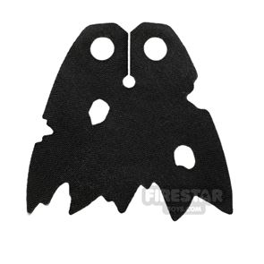 LEGO Cape - Tattered with Holes - Black