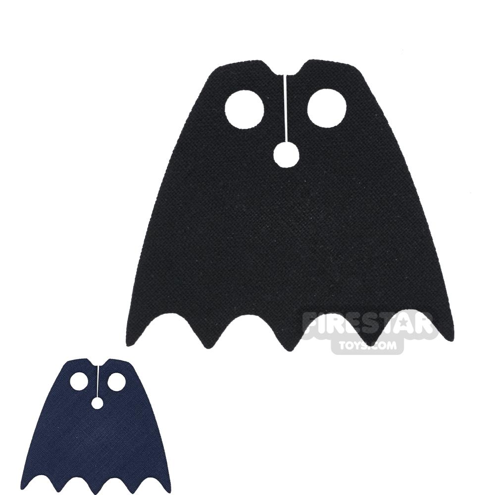 Custom Design Cape - Batman - Black And Dark Blue