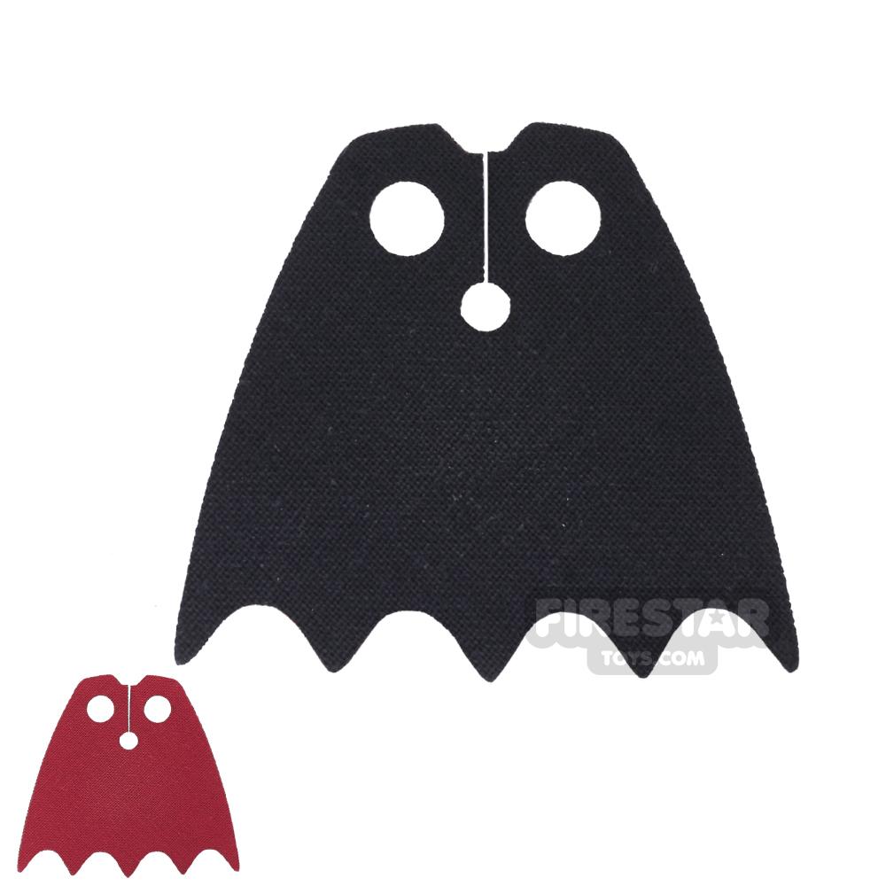 Custom Design Cape - Batman - Red And Black
