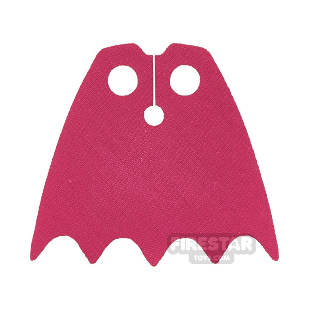 Custom Design Cape - Batman - Dark Pink