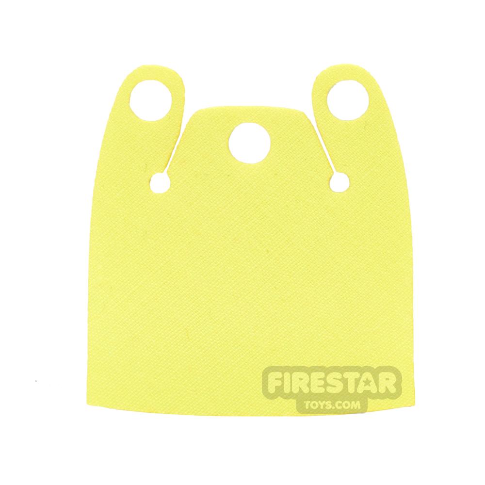 Custom Design Cape - Batman Cloak - Plain Overshoulder - Yellow