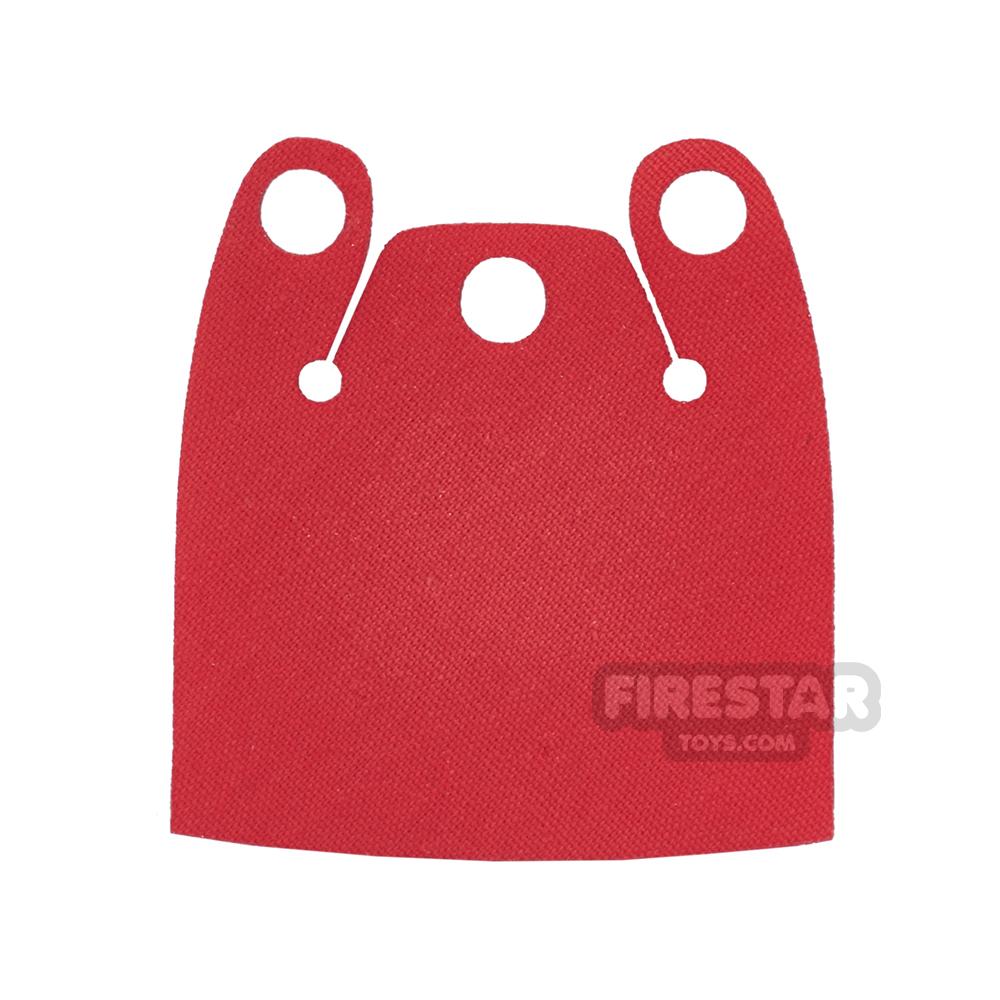 Custom Design Cape - Batman Cloak - Plain Overshoulder - Bright Red