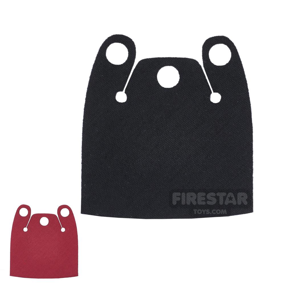 Custom Design Cape - Batman Cloak - Plain Overshoulder - Red And Black