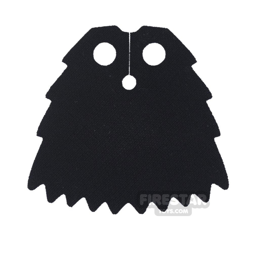 Custom Design Cape - Chima Jagged Cape - Black