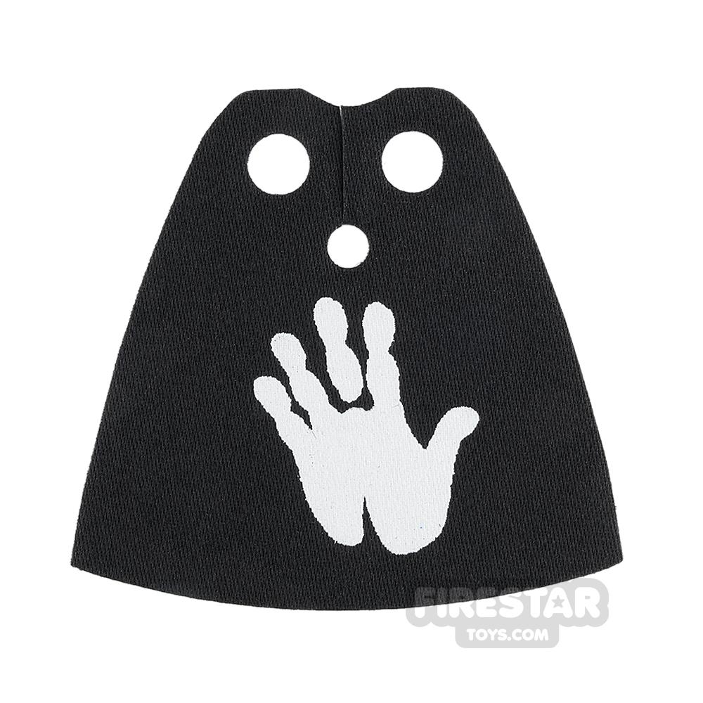Custom Design Cape - Standard - Black with Hand