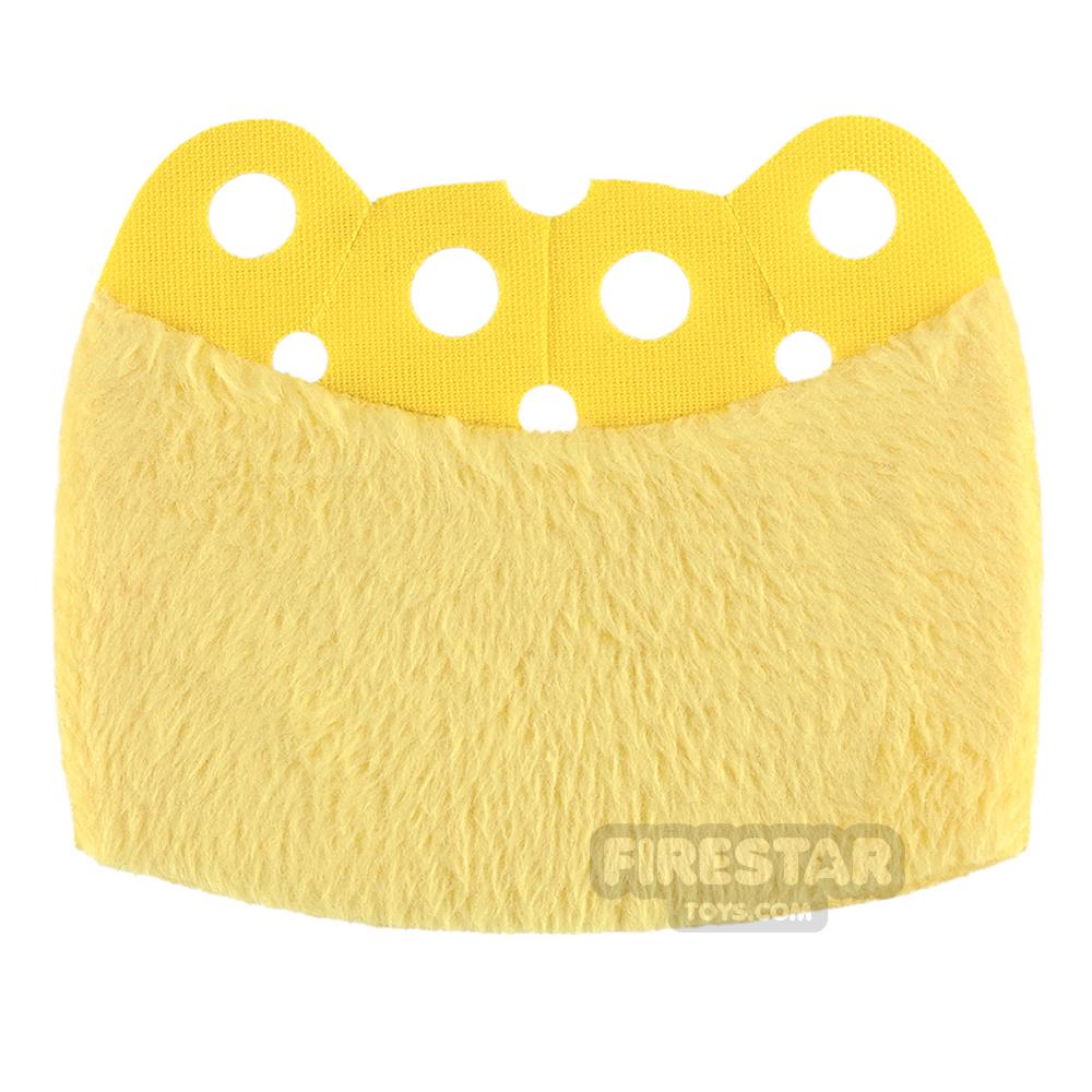Custom Design Cape - Over Cape - Full Fur - Yellow