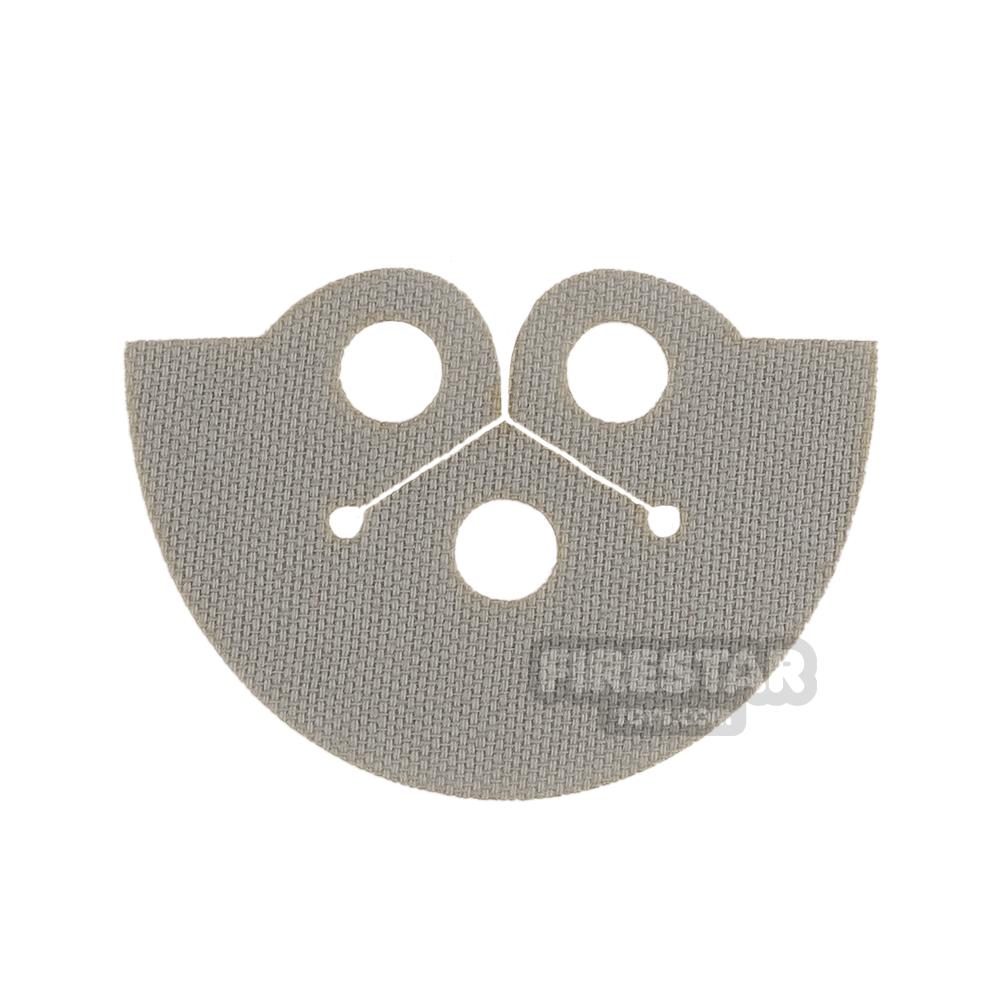 Custom Design Cape - Dress Coat Topper - Light Gray