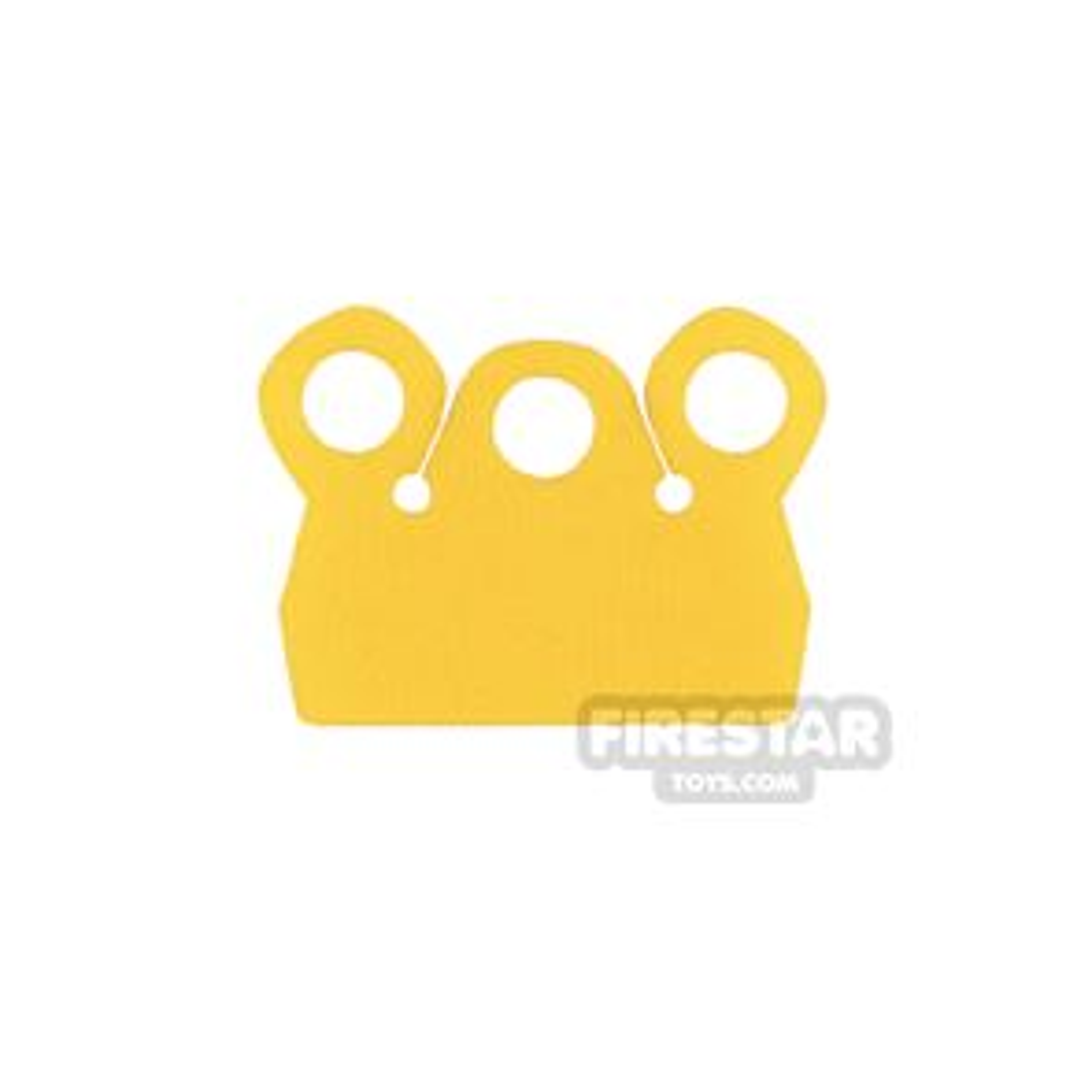 Custom Design Cape - Mod Collar - Yellow