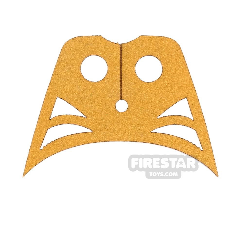 Custom Design Cape - Exodus Cowl - Metallic Yellow Gold