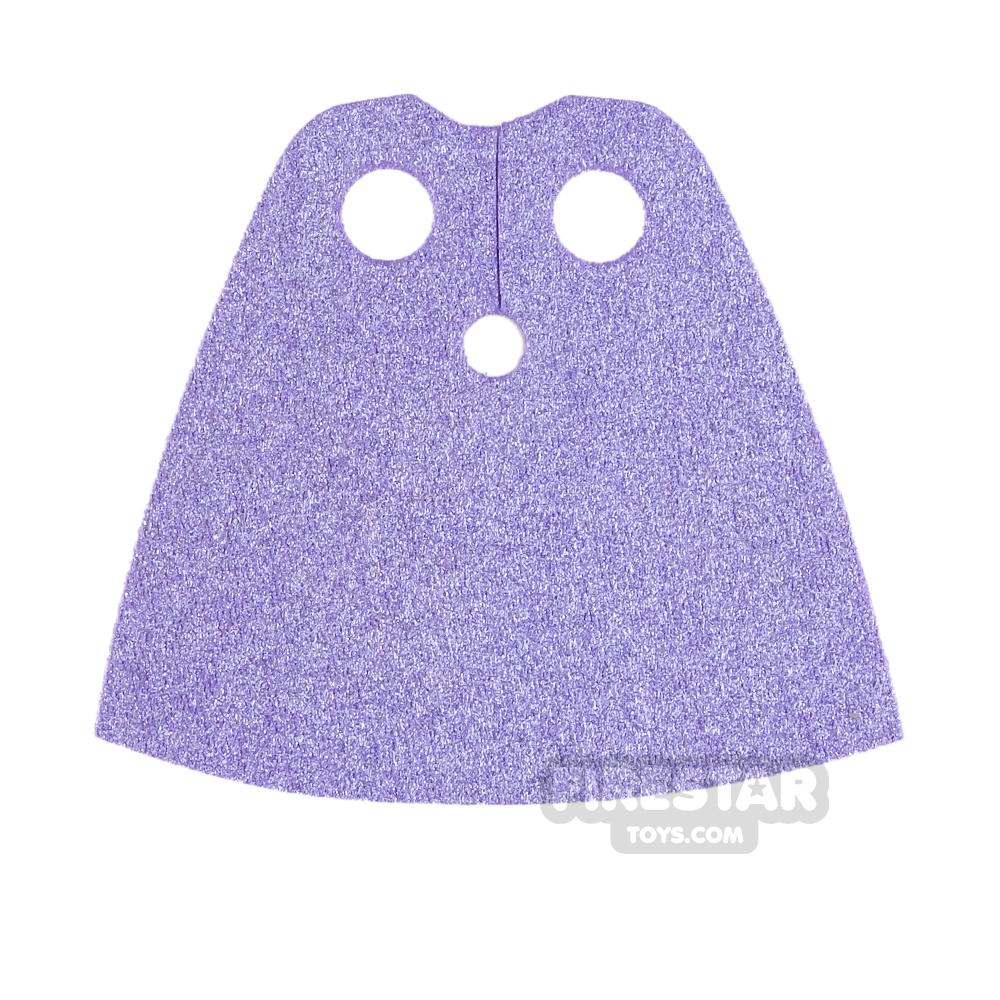 Custom Design Cape - Short - Metallic Purple