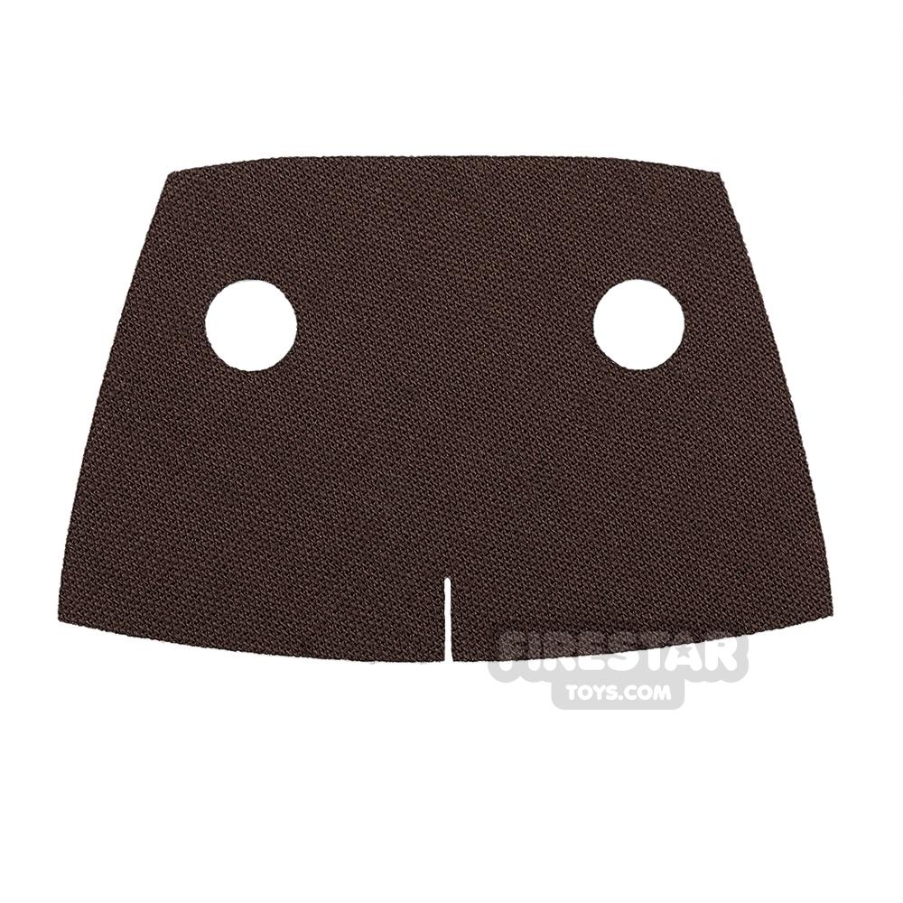Custom Design Cape - Short Trenchcoat - Dark Brown