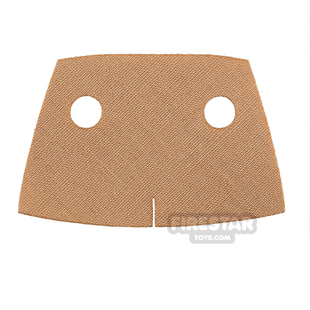 Custom Design Cape - Short Trenchcoat - Tan