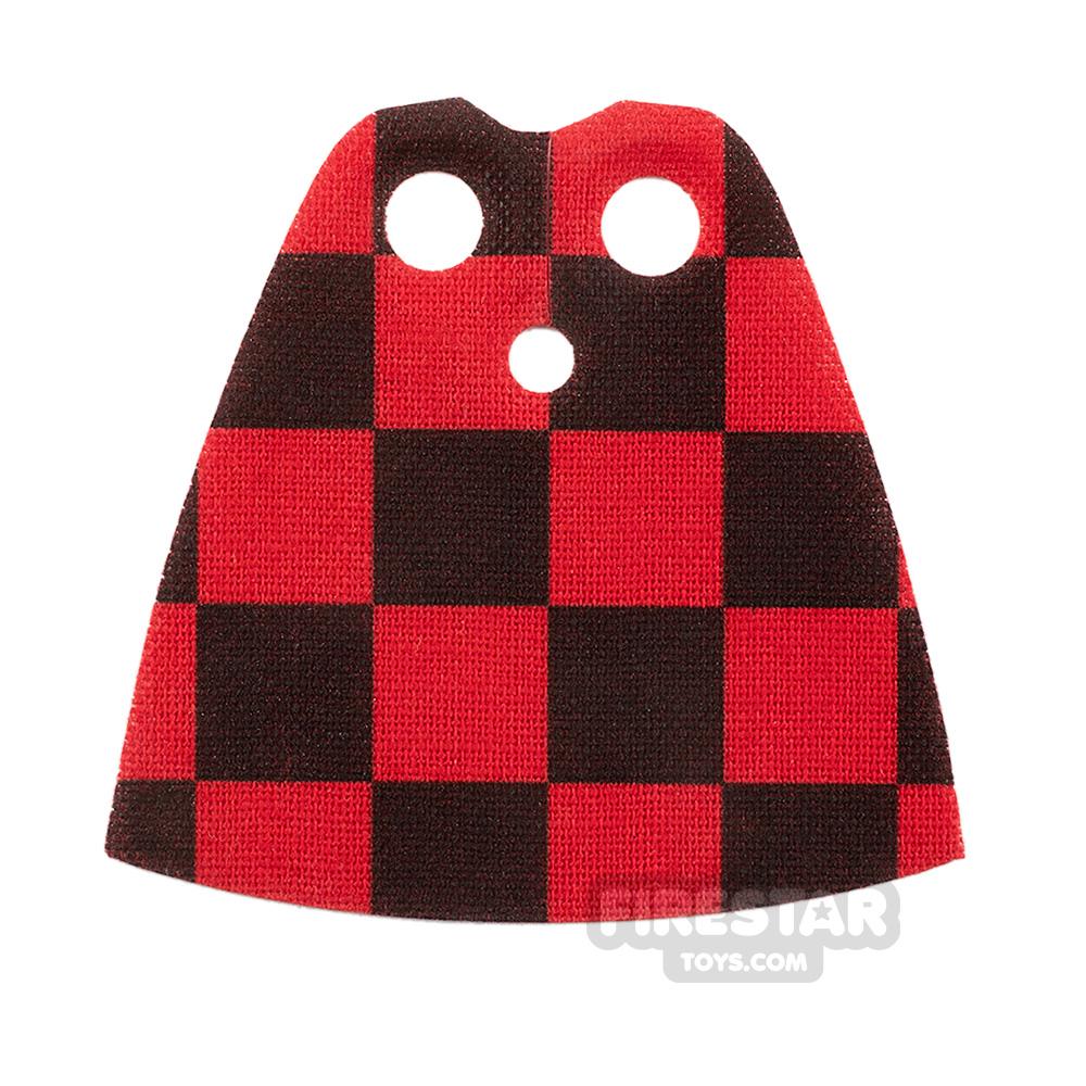 Custom Design Cape Standard Checkered