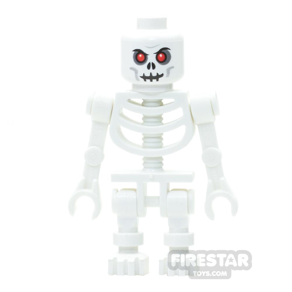 LEGO Mini Figure - Skeleton White