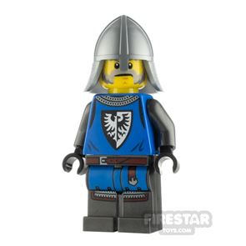 LEGO Castle Minifigure Castle Guard Male Silver Neck Protector