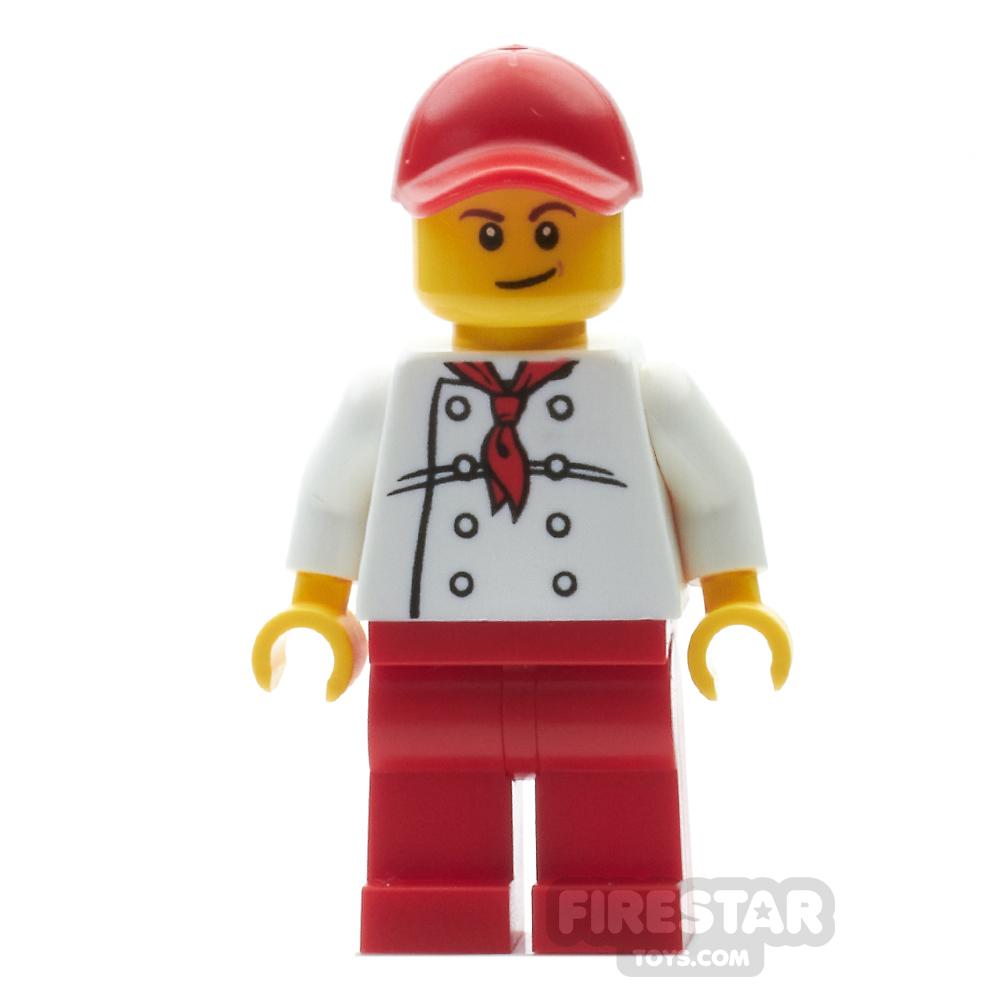 LEGO City Minifigure City Square Hot Dog Vendor