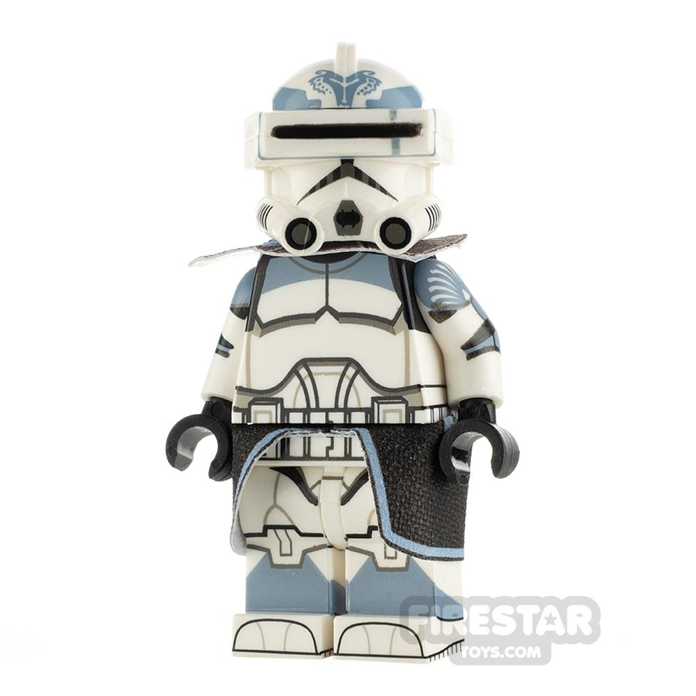 Custom Design Minifigure P2 Trooper Wolf Captain