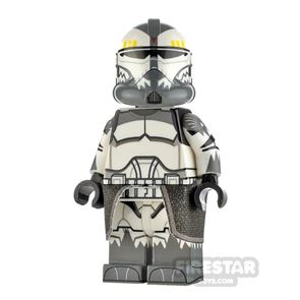 Custom Design Minifigure Realistic Recon Trooper Wolffe DG